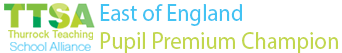 East Of England Pupil Premium Champion Logo