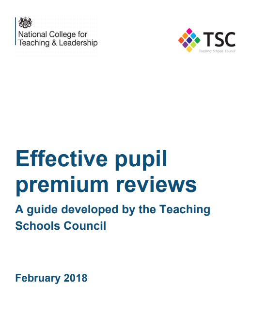 TSC - Effective Pupil Premium Reviews, February 2018
