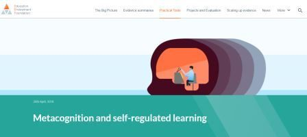 EEF - Metacognition and Self Regulated Learning